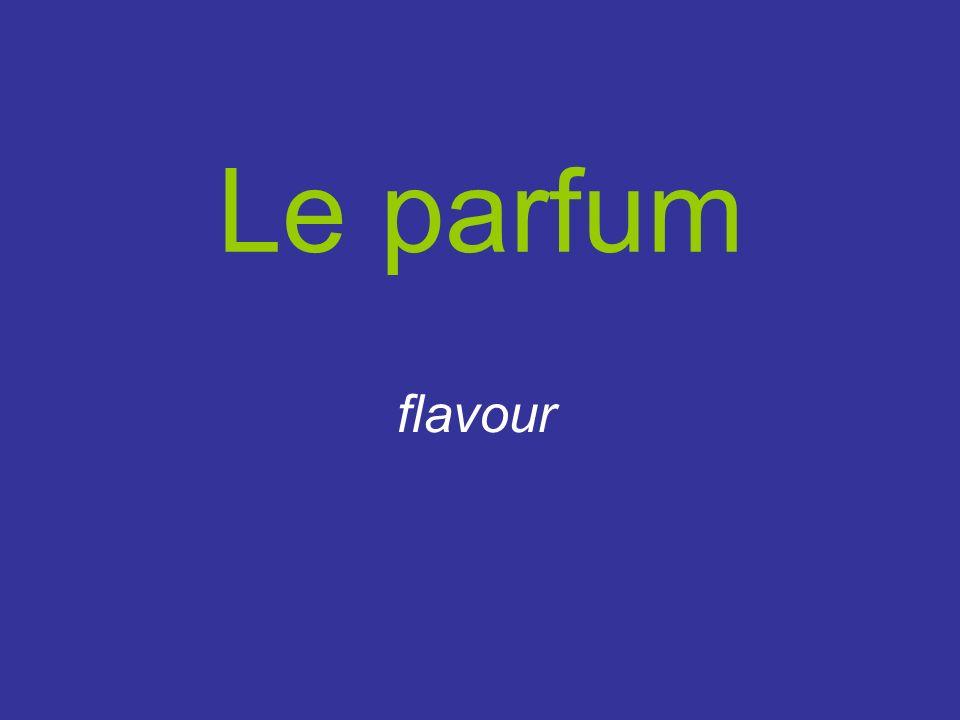 Le parfum flavour