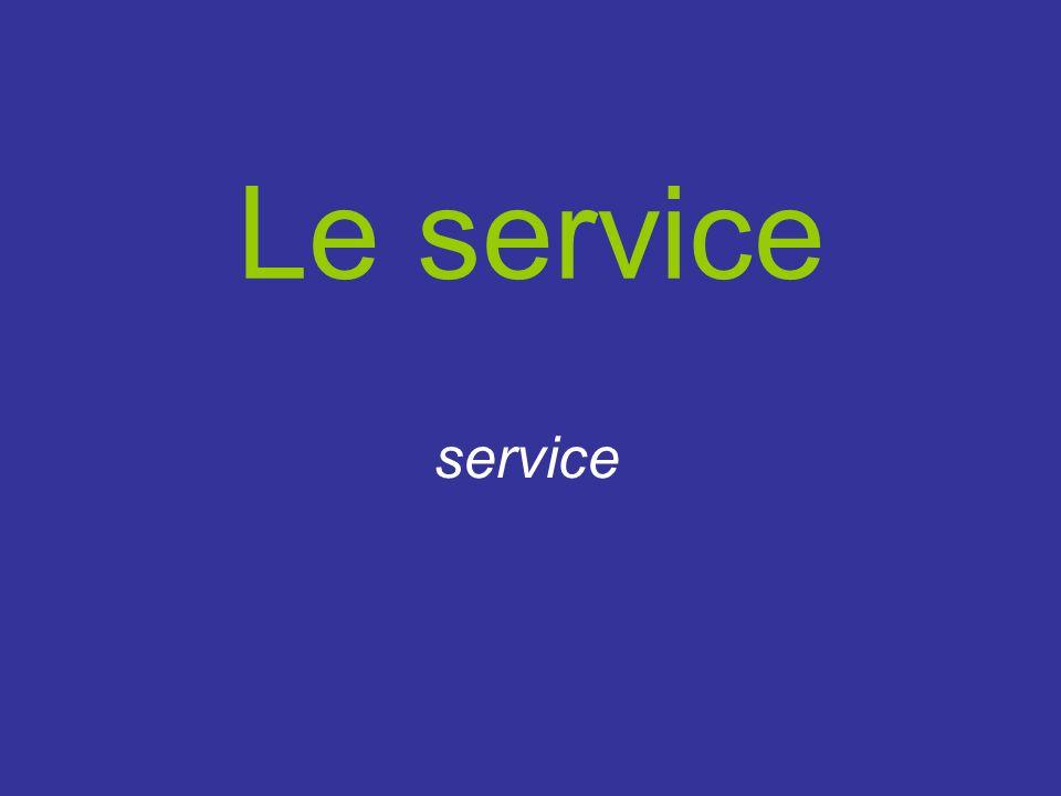 Le service service
