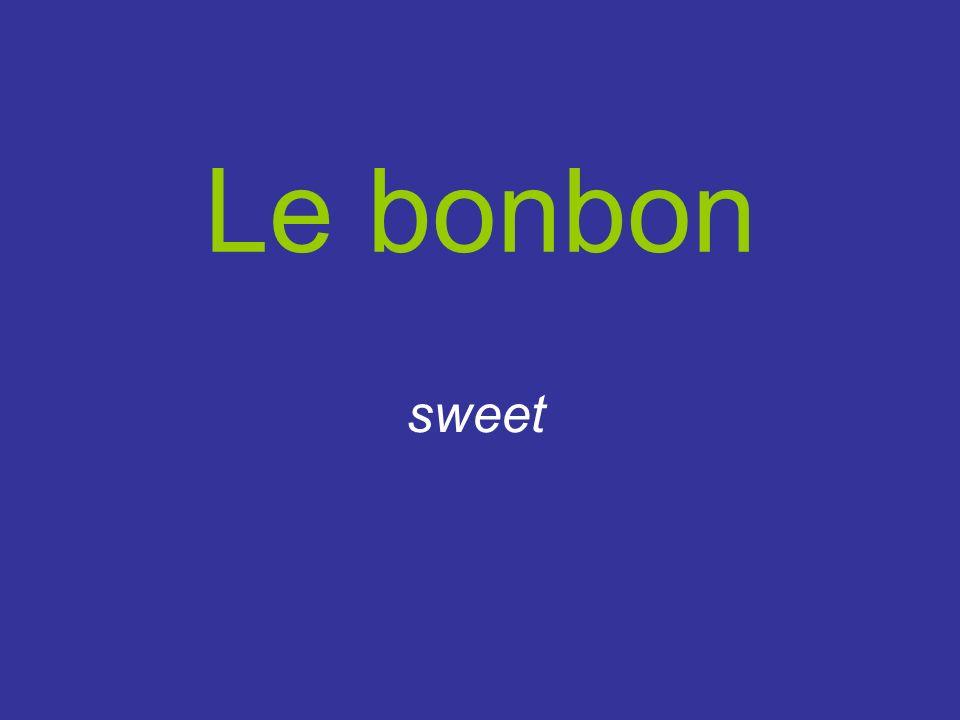 Le bonbon sweet