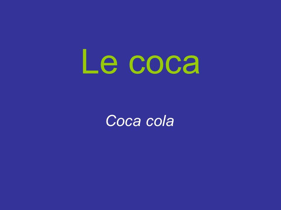 Le coca Coca cola