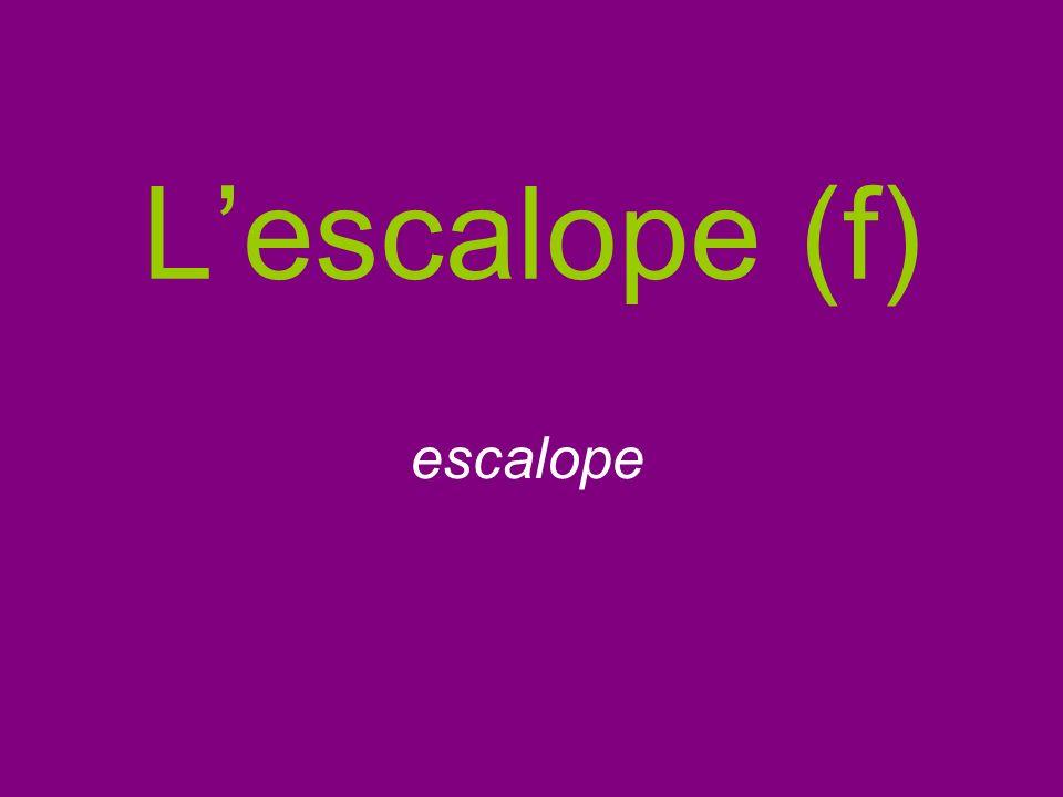 Lescalope (f) escalope