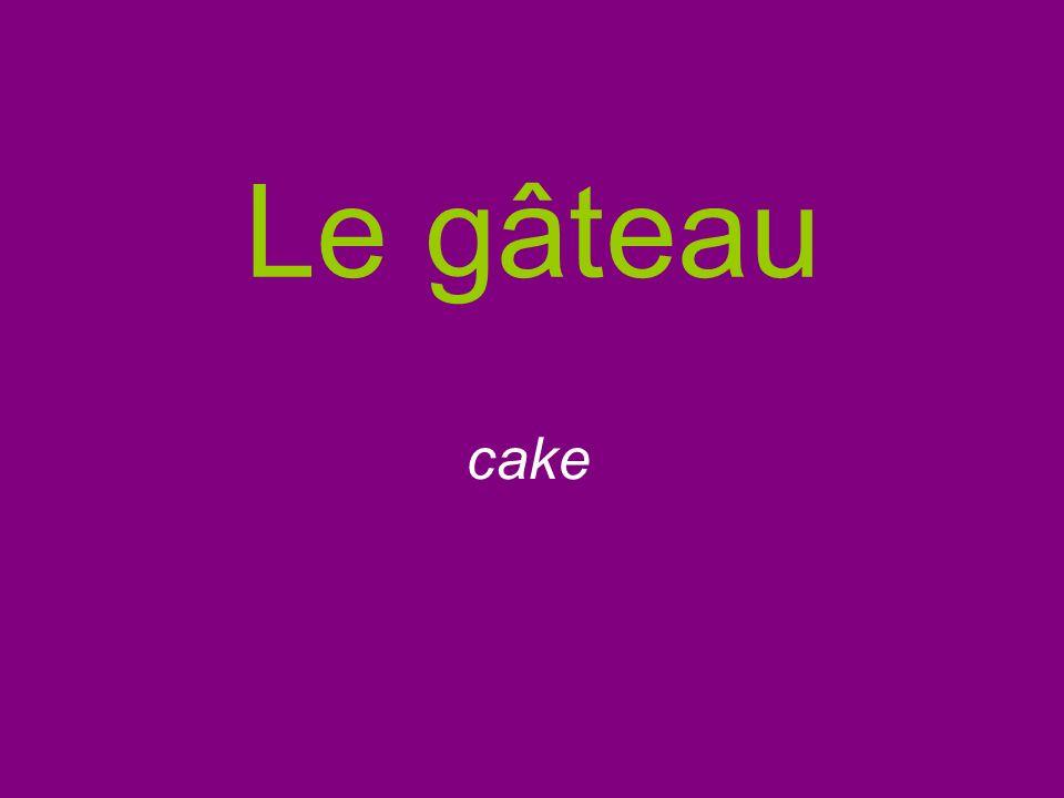 Le gâteau cake
