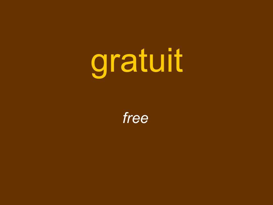 gratuit free