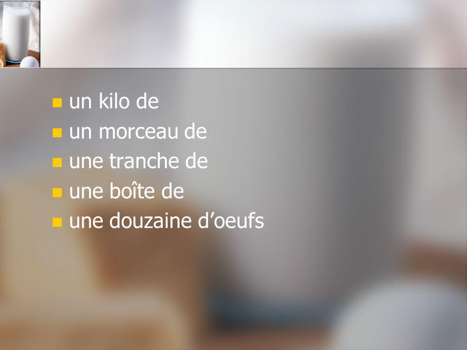 Adjectifs délicieux / délicieuse frais / fraîche épicé(e) grillé(e) salé(e) sucré(e)