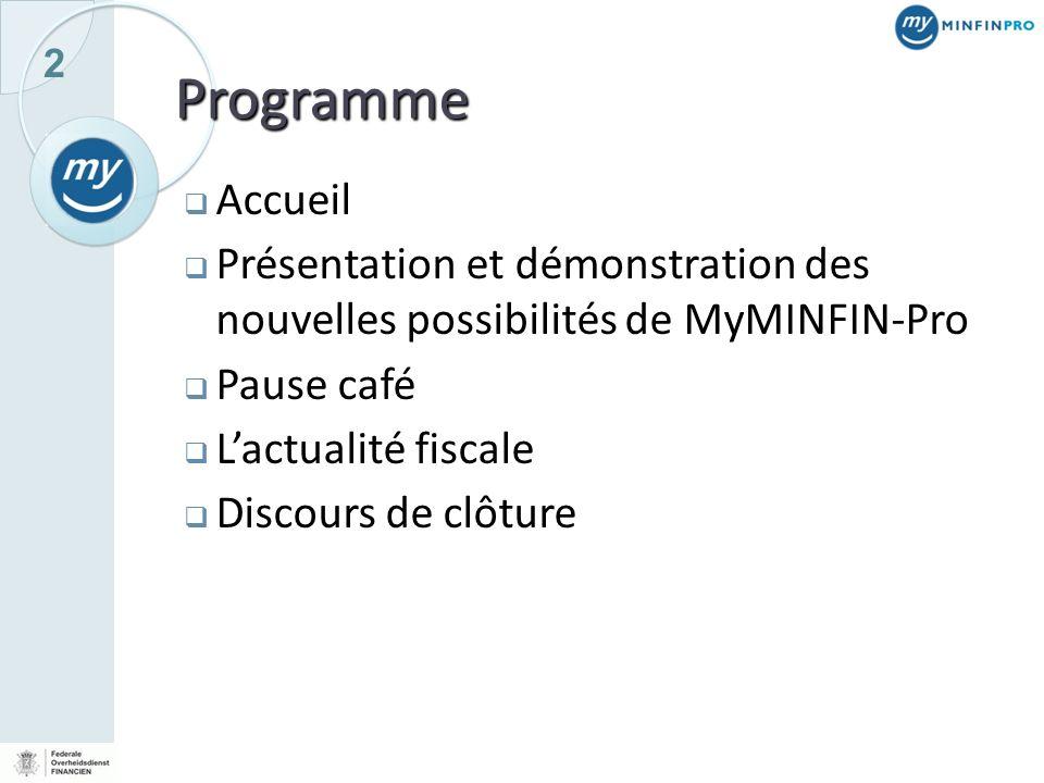 3 Accueil Monsieur L. Collet Le Directeur dEncadrement ICT Le SPF Finances
