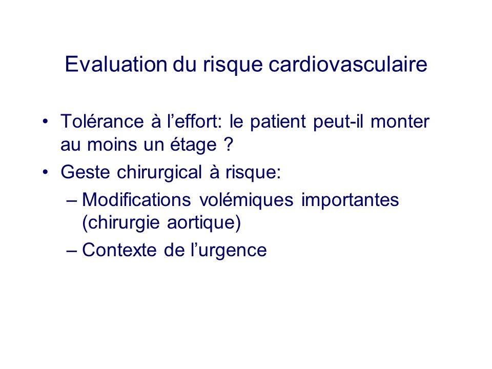 DOSSIER N° 1 L expertise (2) - causes cardiovasculaires.