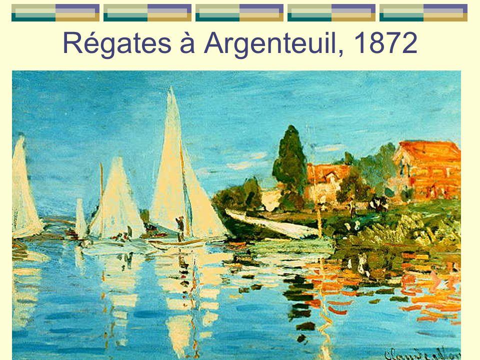 Régates à Argenteuil, 1872