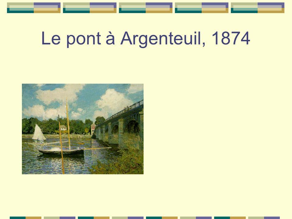 Le pont à Argenteuil, 1874