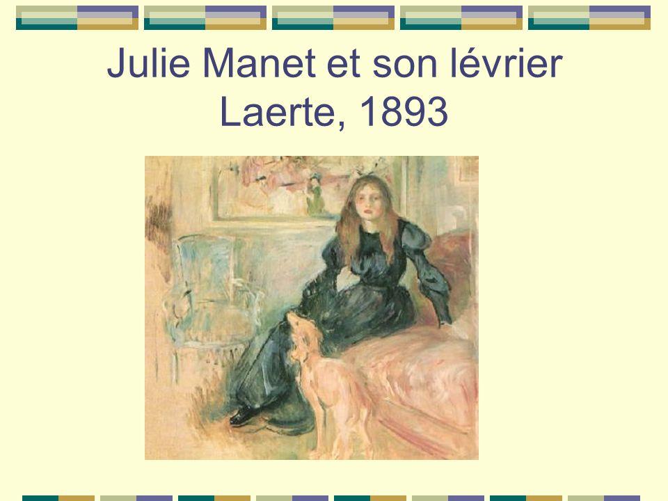 Julie Manet et son lévrier Laerte, 1893