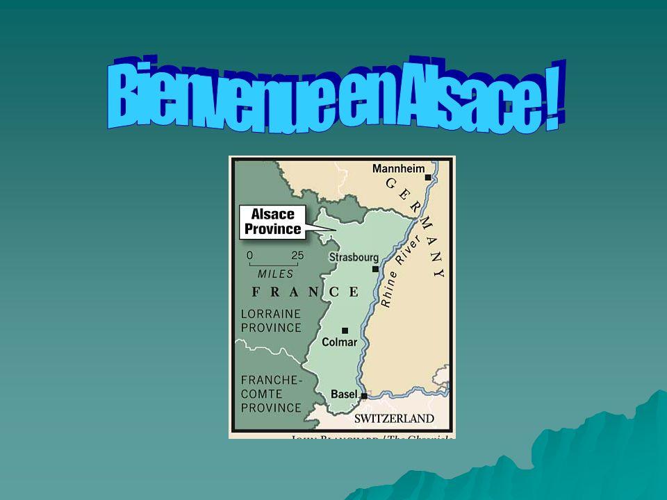 LAlsace se trouve au nord- est de la France.
