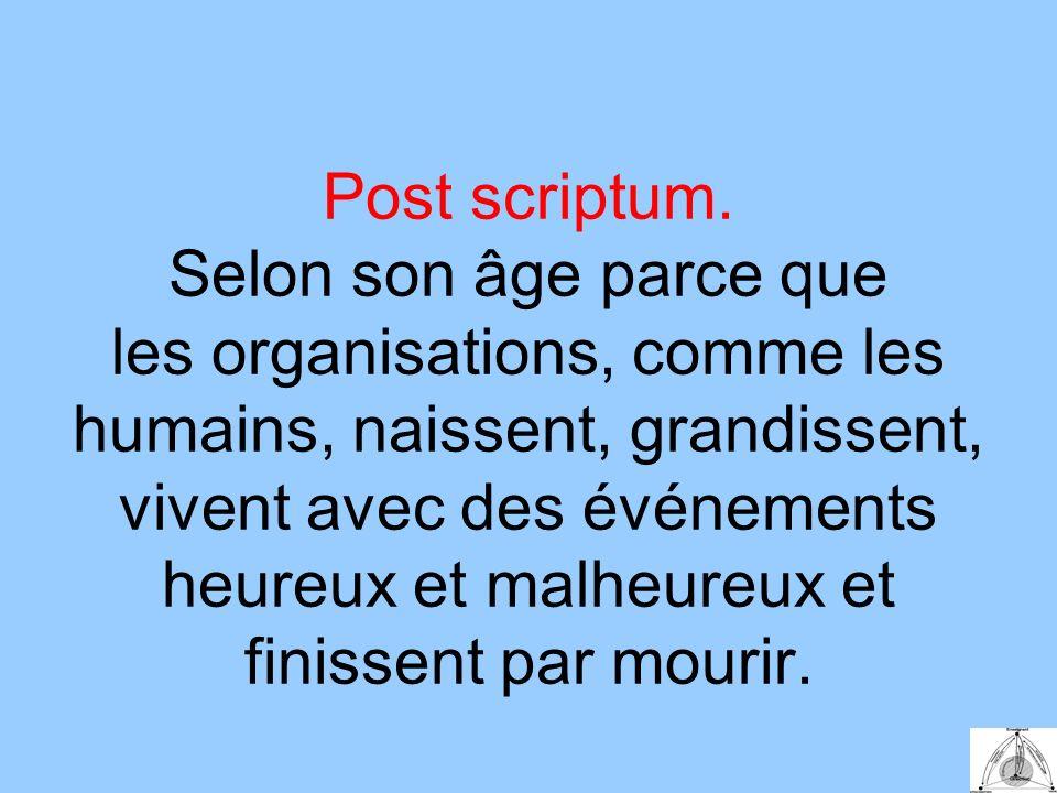 Post scriptum.