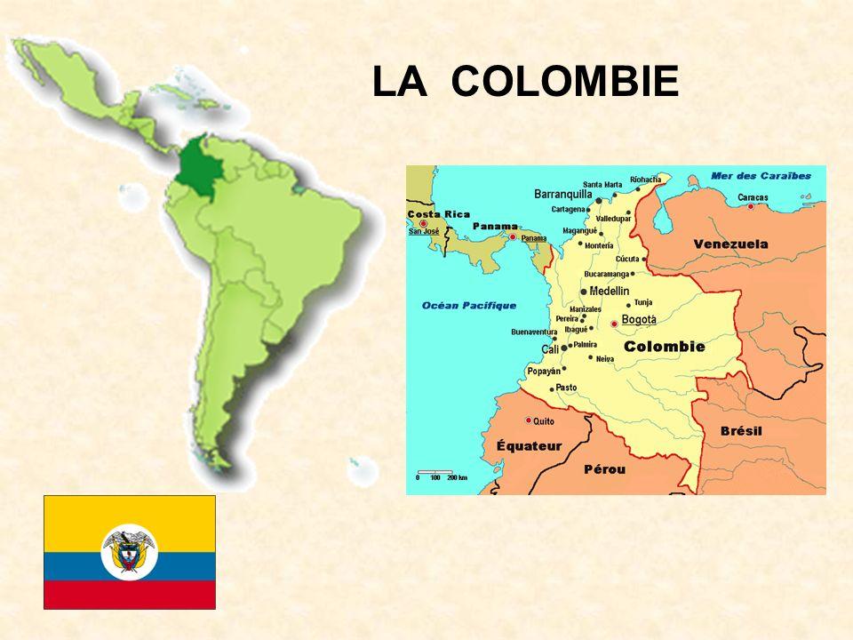 Superficie: 1 141,748 km² Capitale: Santa Fé de Bogotá Population: 41,3 millions d hab.
