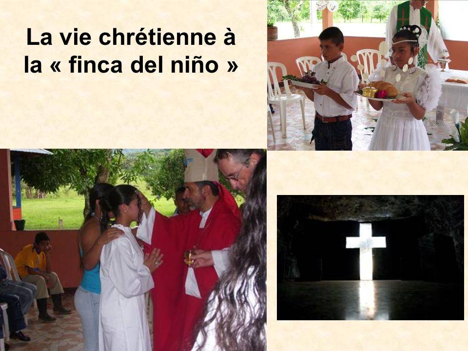 La vie chrétienne à la « finca del niño »