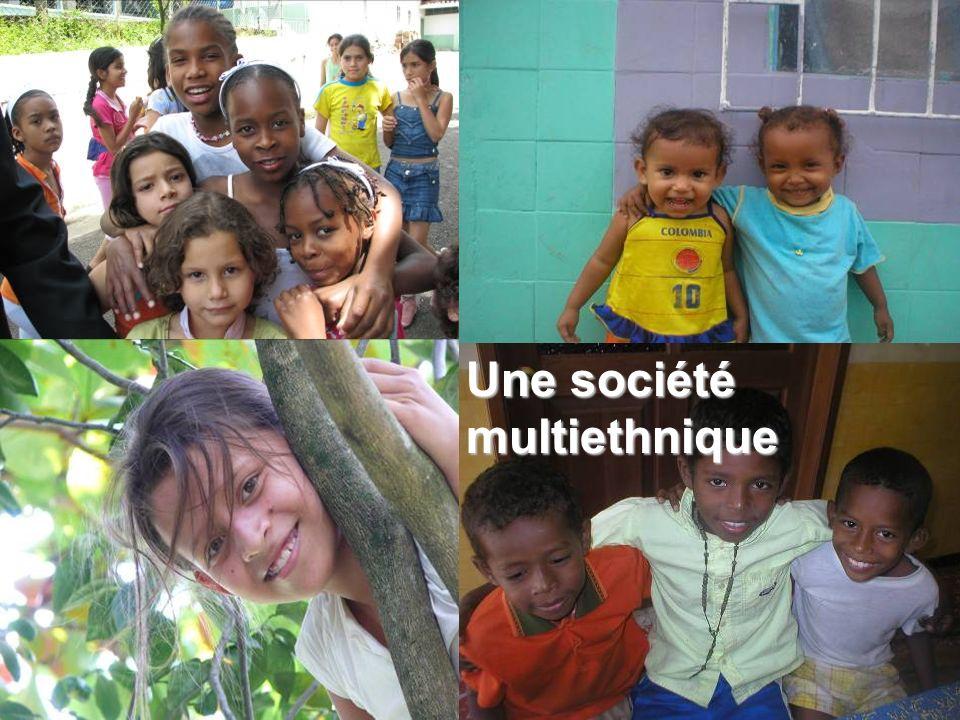 Une société multiethnique
