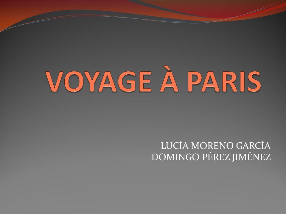 LUCÍA MORENO GARCÍA DOMINGO PÉREZ JIMÉNEZ