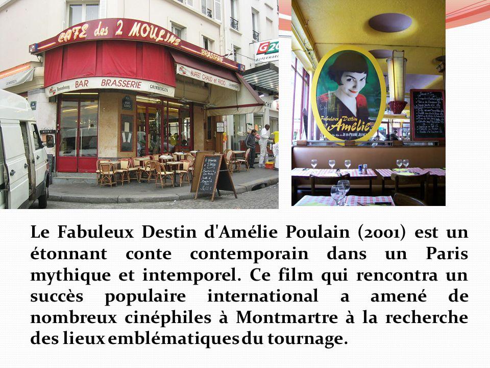 Le Fabuleux Destin d'Amélie Poulain (2001) est un étonnant conte contemporain dans un Paris mythique et intemporel. Ce film qui rencontra un succès po