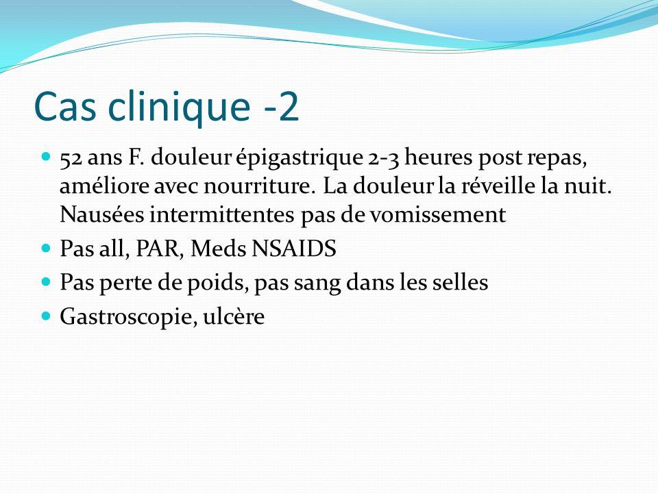 Cas clinique -3 65 ans M.