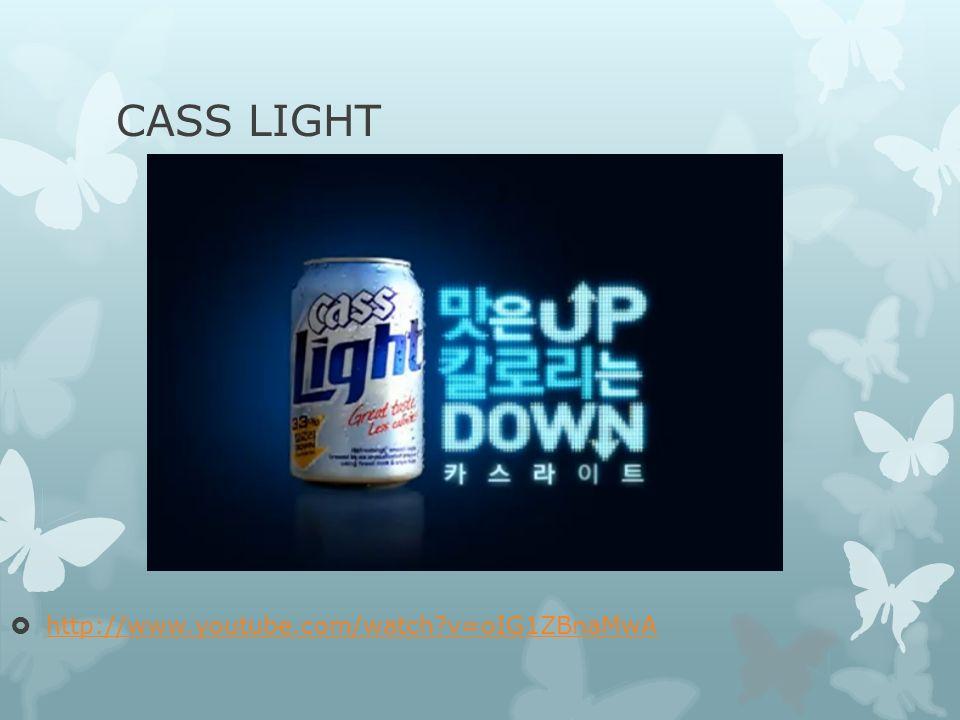 CASS LIGHT http://www.youtube.com/watch?v=oIG1ZBnaMwA