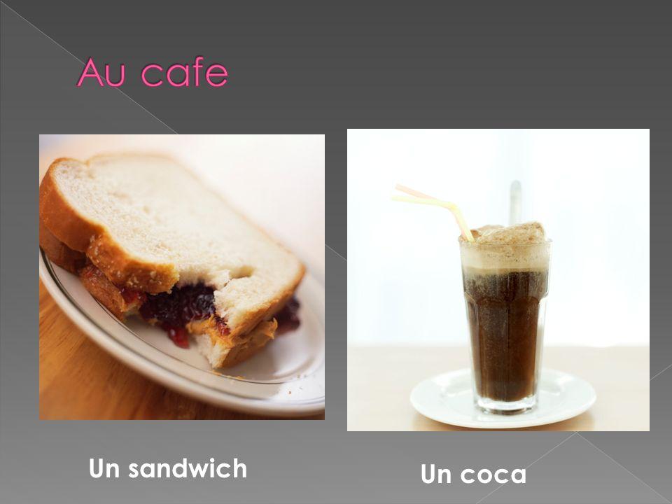 Un sandwich Un coca
