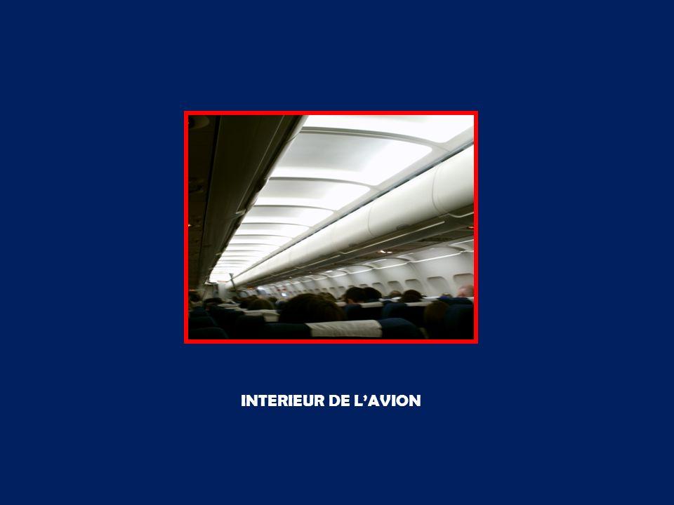 INTERIEUR DE LAVION