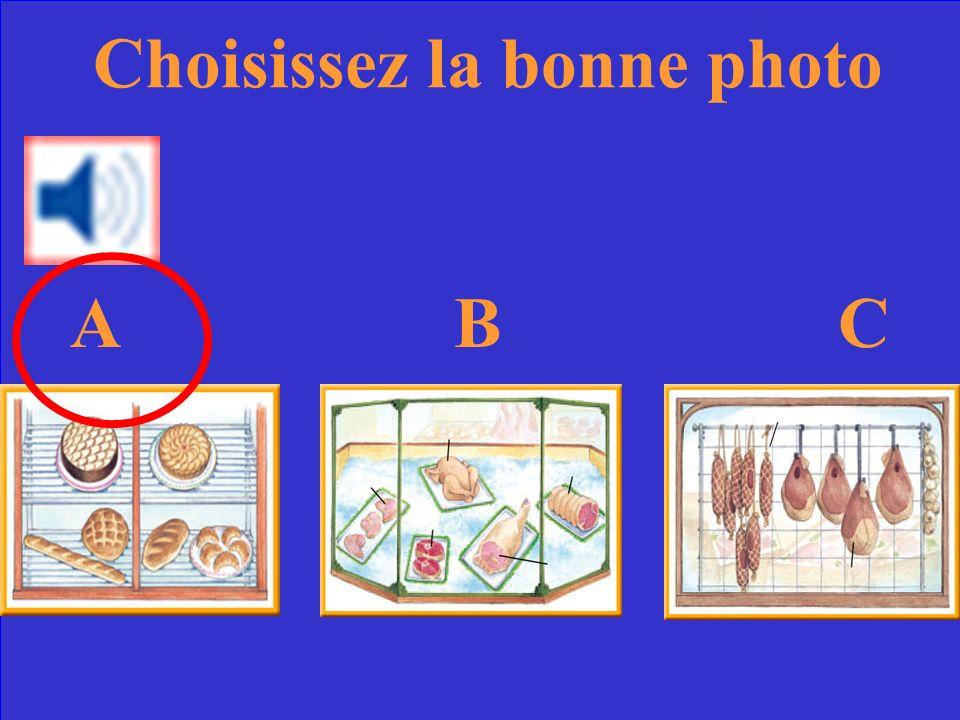 Choisissez la bonne photo ABCABC