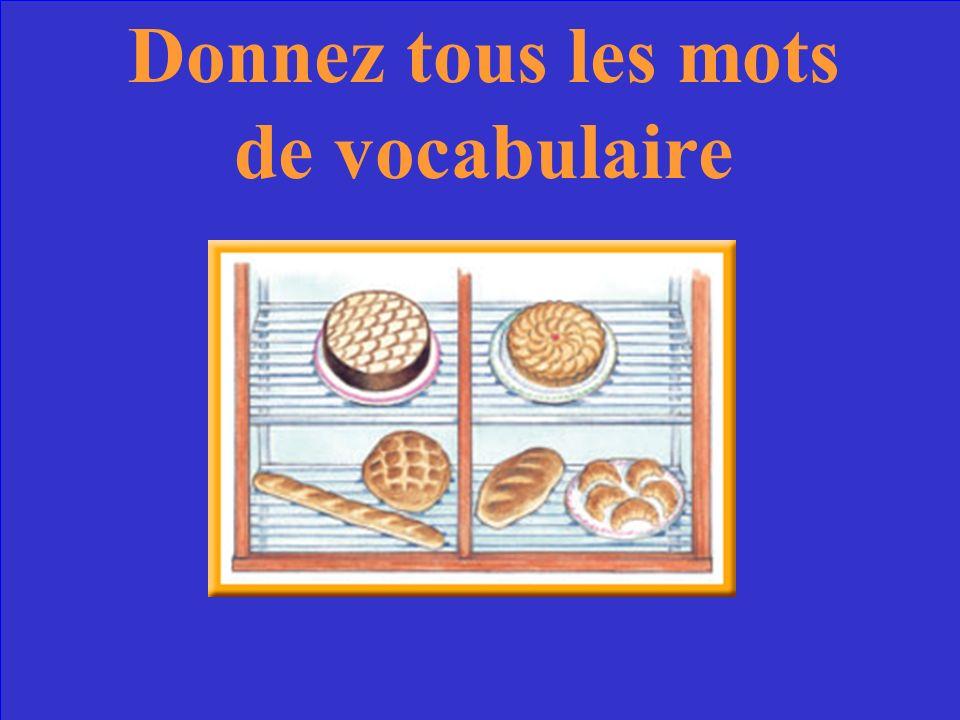 Les aliments Les magasins Les verbes irréguliers Exercises découte Les articles 10 Point 20 Points 30 Points 40 Points 50 Points 10 Point 20 Points 30