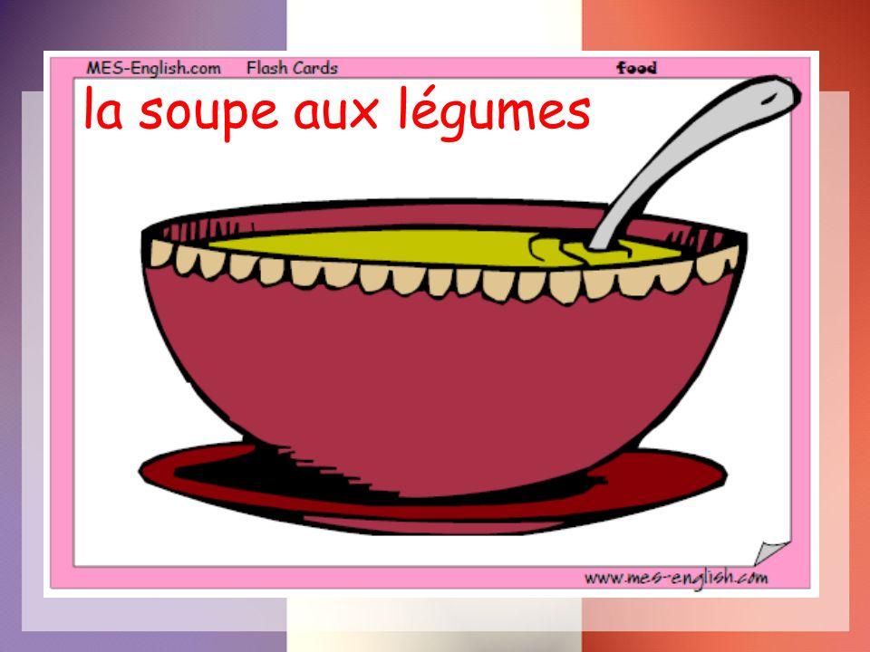 la soupe aux légumes