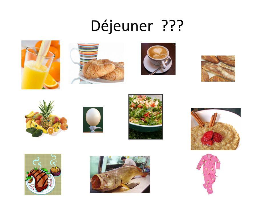 Déjeuner ???