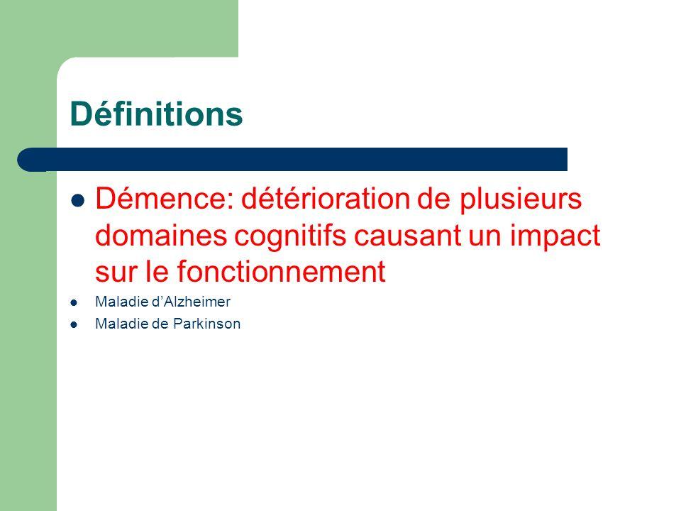 37 Démence dAlzheimer et MCI Normal Démence Troubles légers MCI Continuum fonctionnel et cognitif Adapté Peterson et al, Neurologia 2000