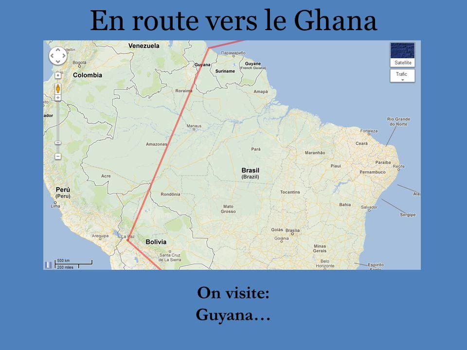 Guyana Capitale: Georgetown Population: 895 000 Langue officielle: anglais Histoire: Lorsque les premiers Européens sont arrivés dans la région autour de 1500, le Guyana était habité par les Arawaks.