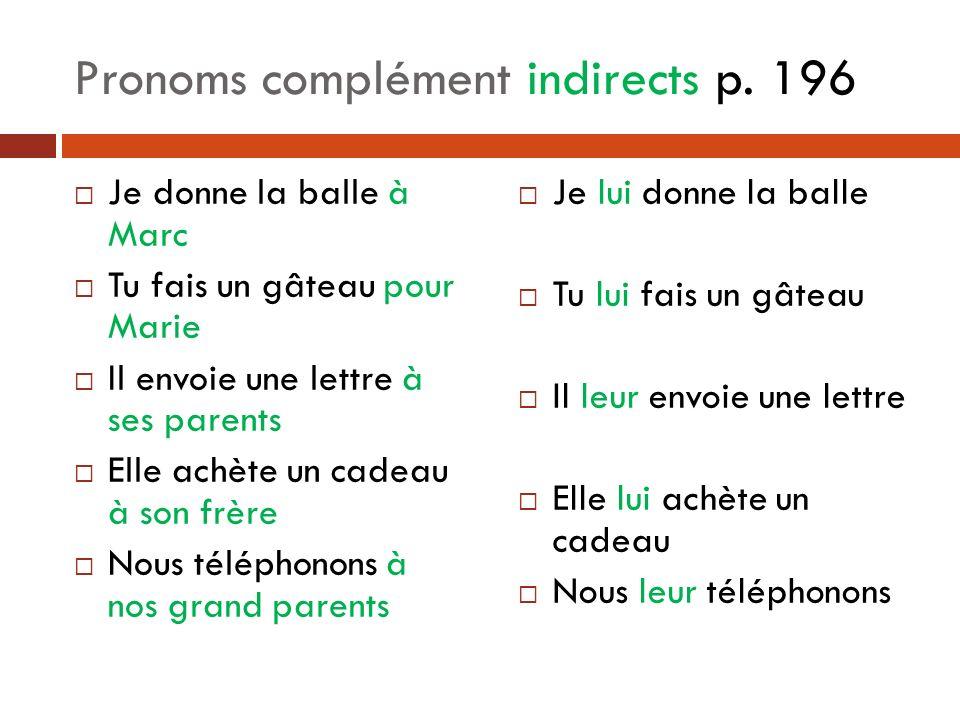 Pronoms complément indirects p.