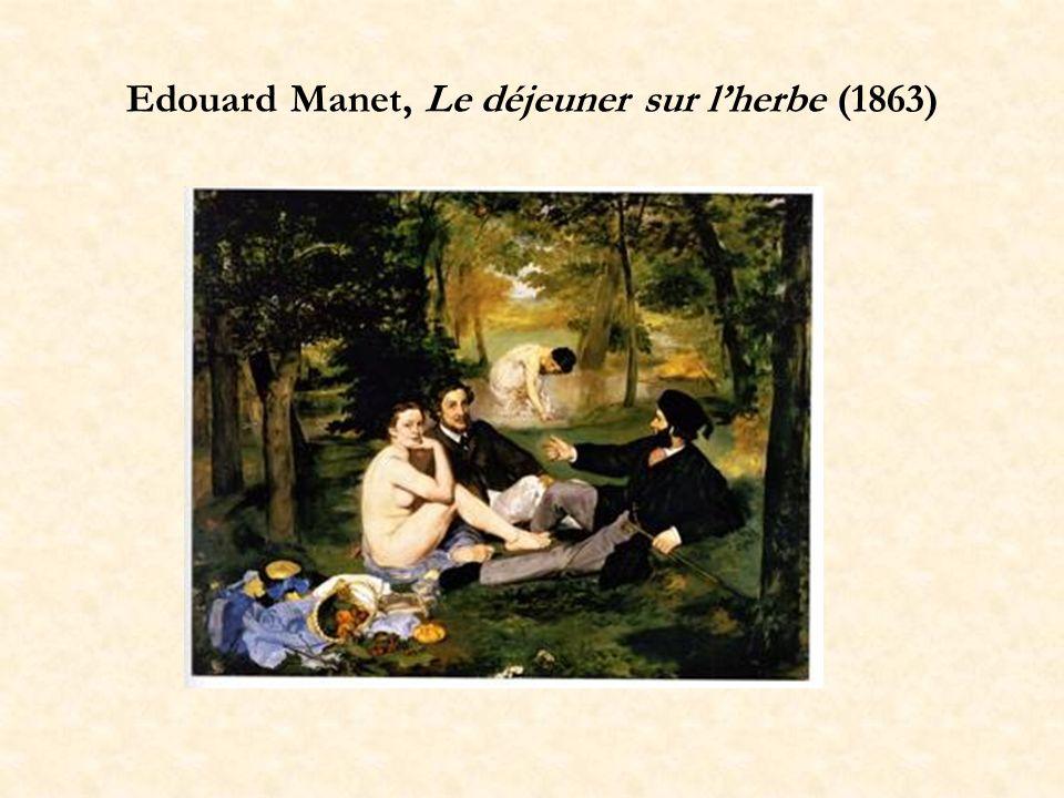 Edouard Manet, Le déjeuner sur lherbe (1863)
