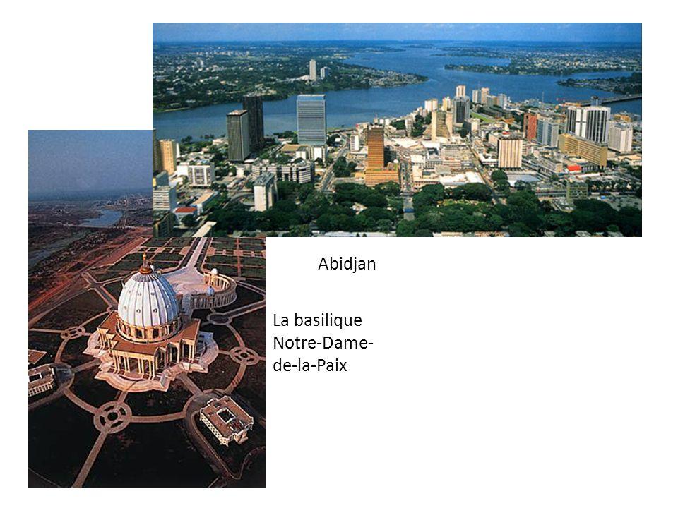 La basilique Notre-Dame- de-la-Paix Abidjan
