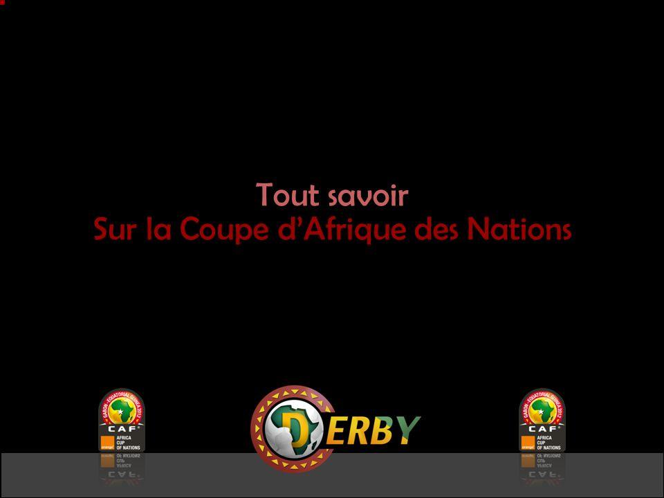 Tout savoir Sur la Coupe dAfrique des Nations