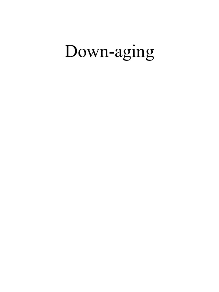 Down-aging