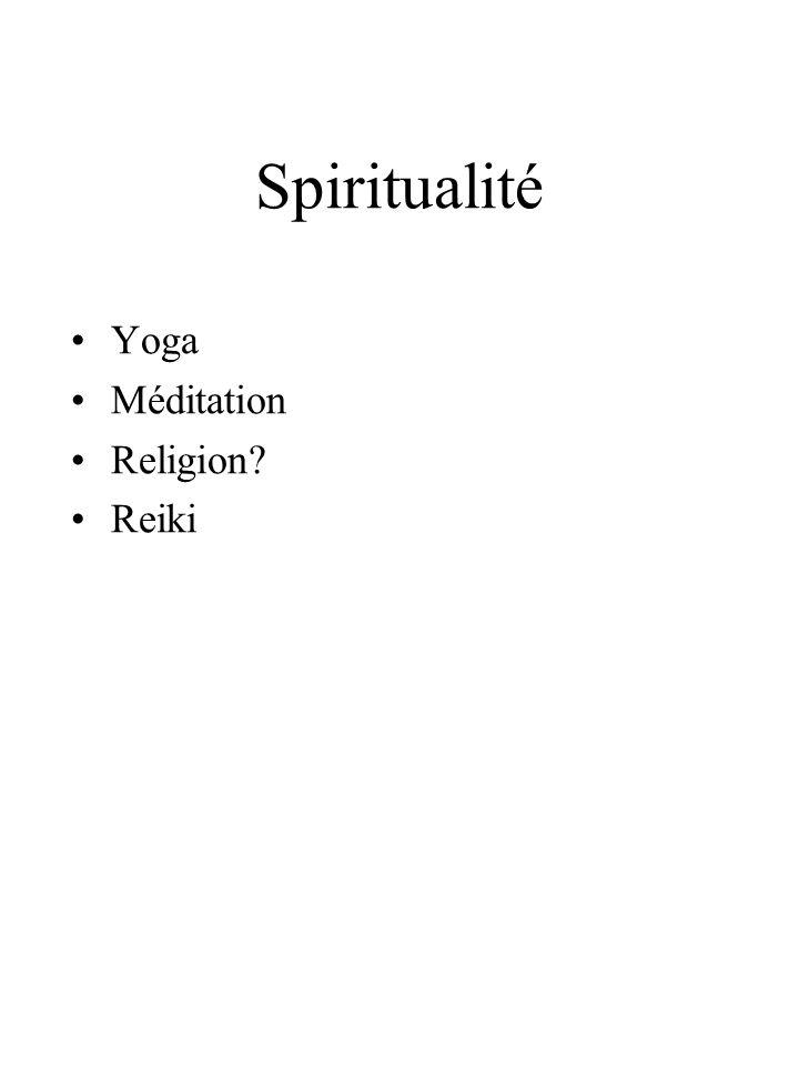 Spiritualité Yoga Méditation Religion? Reiki