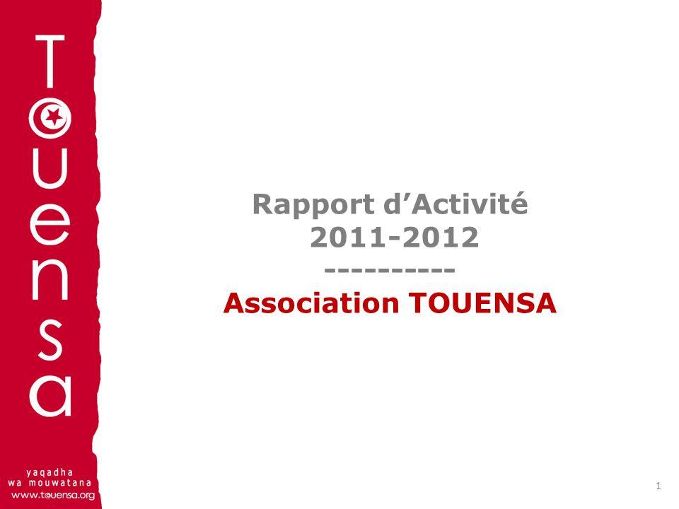 Sommaire Conseil dAdministration /Fondateurs Rapport Moral 2011 - 2012 Rapport Financier 2011 Rapport Financier 2012 Perspectives 2012-2013 Règlement intérieur Suite et fin 2