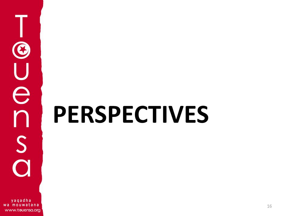 PERSPECTIVES 16