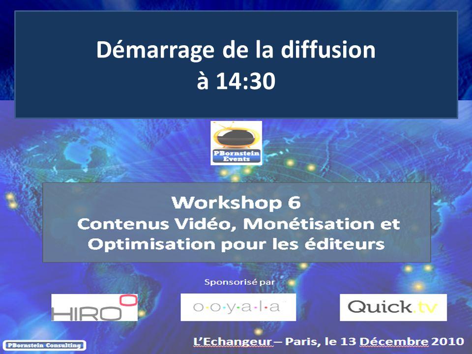 2 © 2010 netinall, All Rights Reserved Workshop 6 Contenus Vidéo, Monétisation et Optimisation pour les éditeurs LEchangeur – Paris, le 13 Décembre 2010 Sponsorisé par