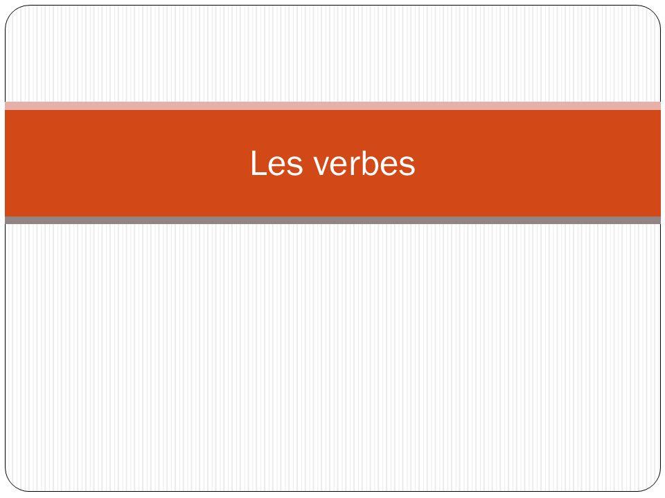 Les verbes réguliers « -ir »