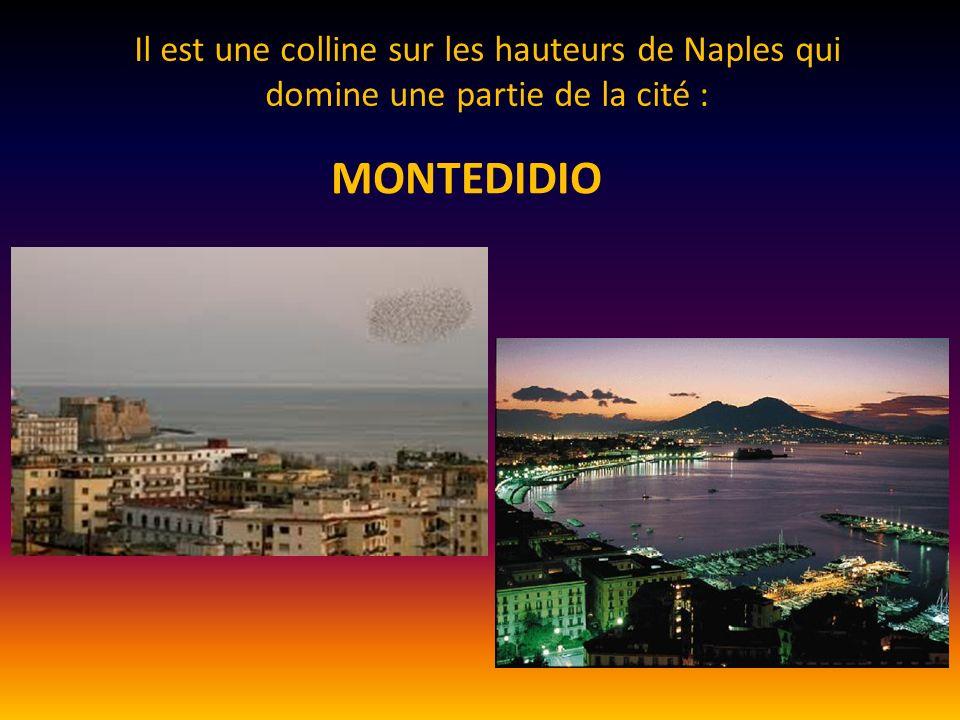 Il est une colline sur les hauteurs de Naples qui domine une partie de la cité : MONTEDIDIO