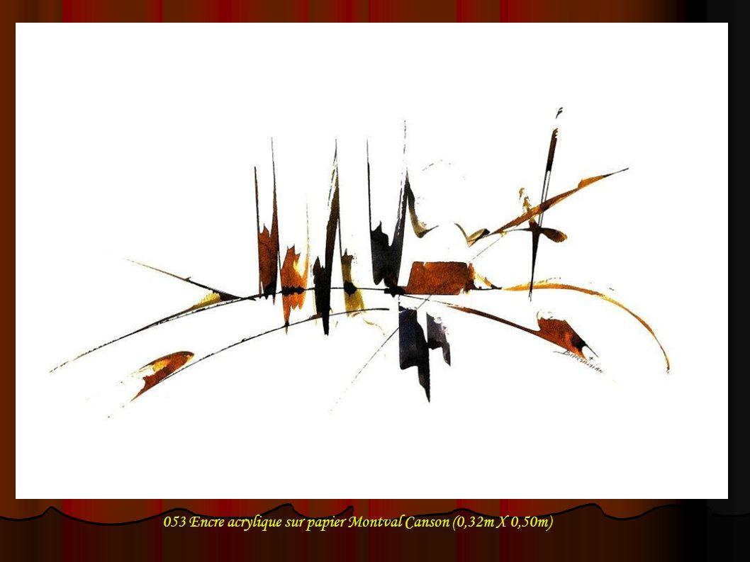 073 Encre acrylique sur papier 0,21m X 0,30m
