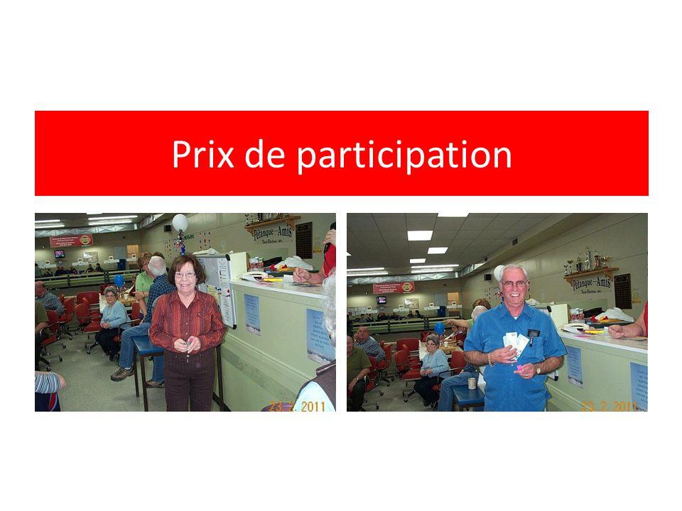 Prix de participation