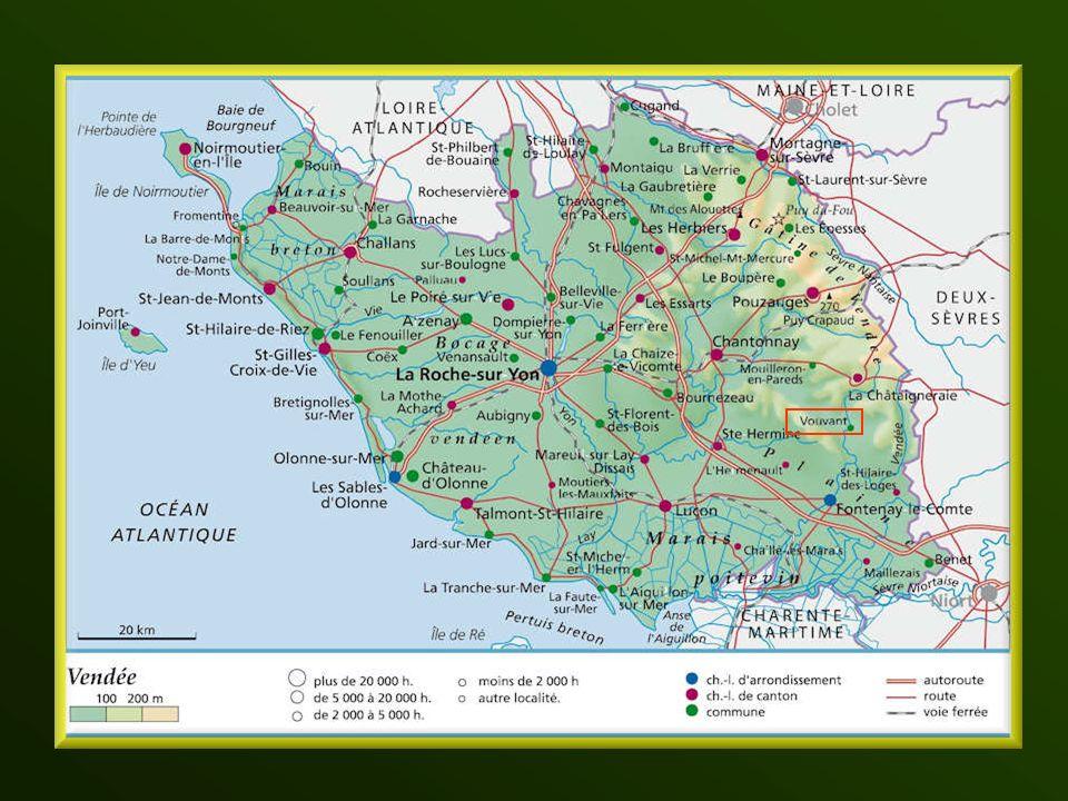 Vouvant est une commune française, située dans le département de la Vendée et la région Pays de la Loire. Elle est située sur une colline surplombant