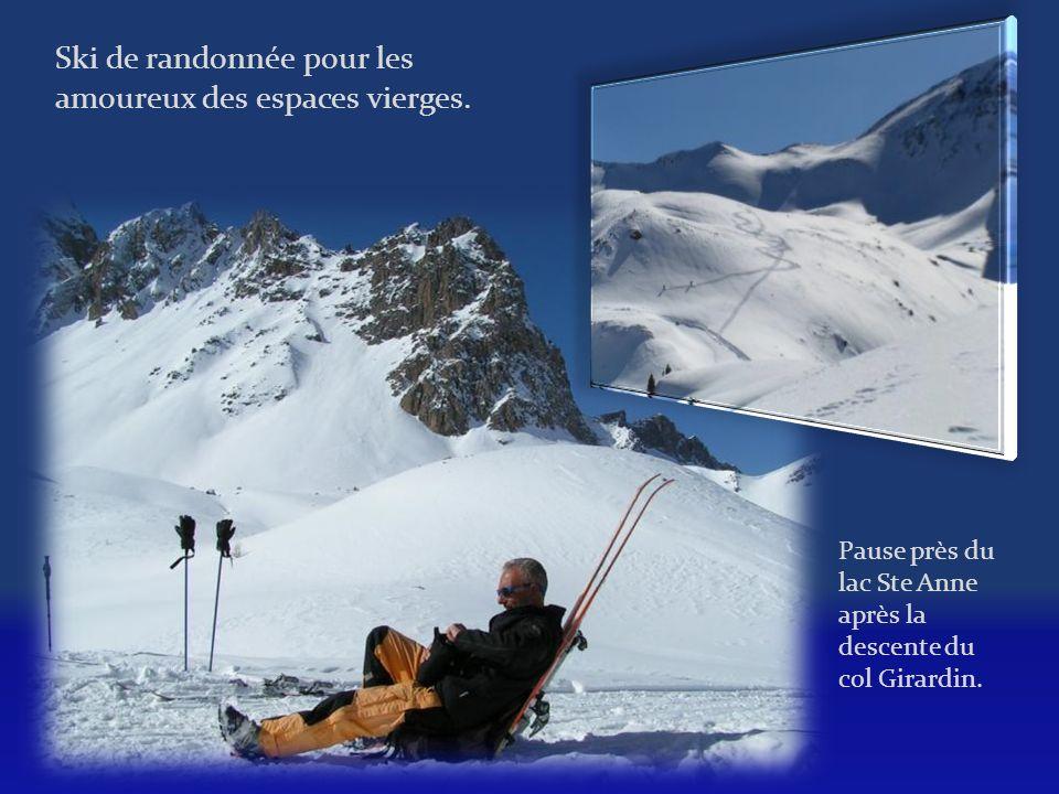 Ski de randonnée pour les amoureux des espaces vierges.