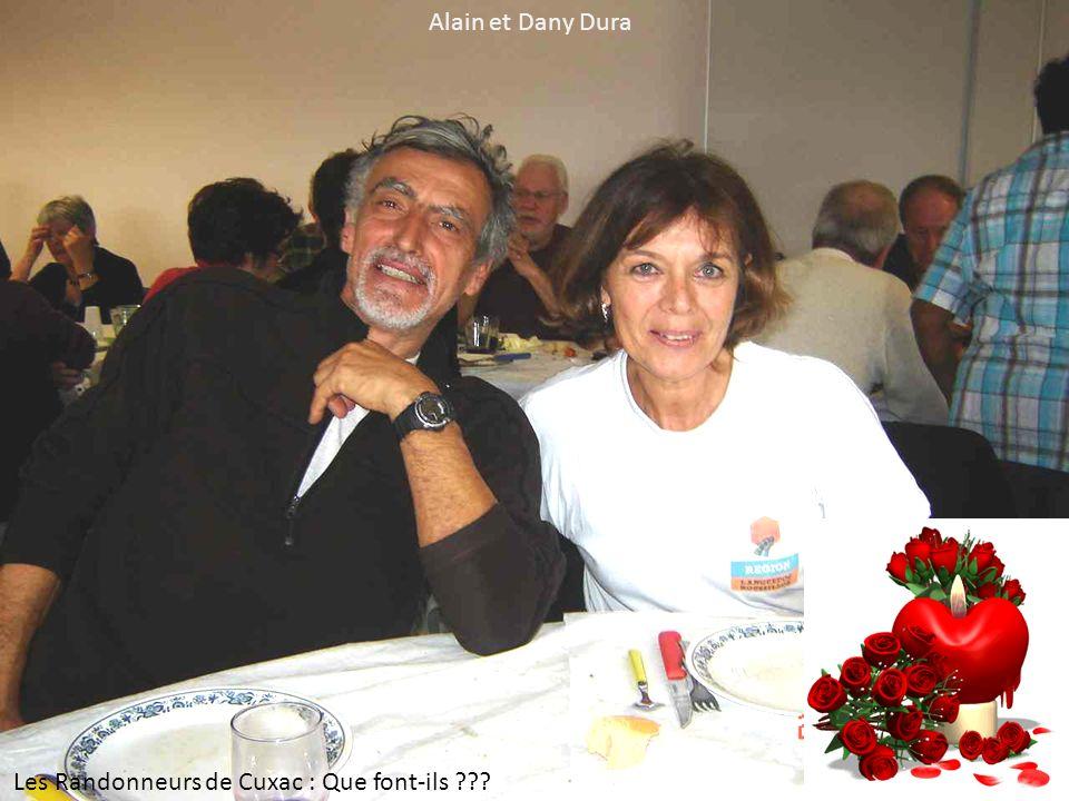 Alain et Dany Dura Les Randonneurs de Cuxac : Que font-ils ???