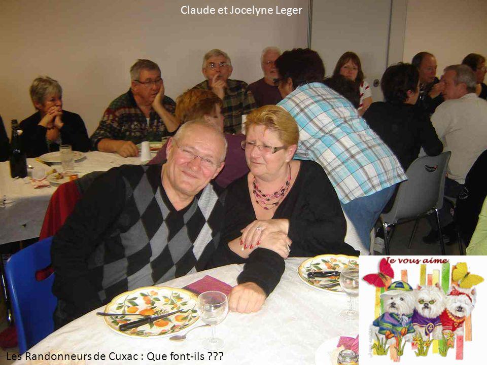 Claude et Jocelyne Leger Les Randonneurs de Cuxac : Que font-ils ???