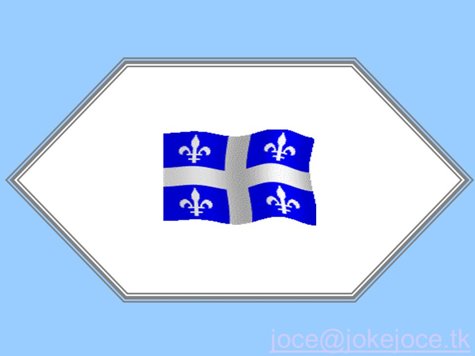 Alors pourquoi avoir dit Canada? Parce que vous saviez pas c était quoi le Québec, saint-crème!