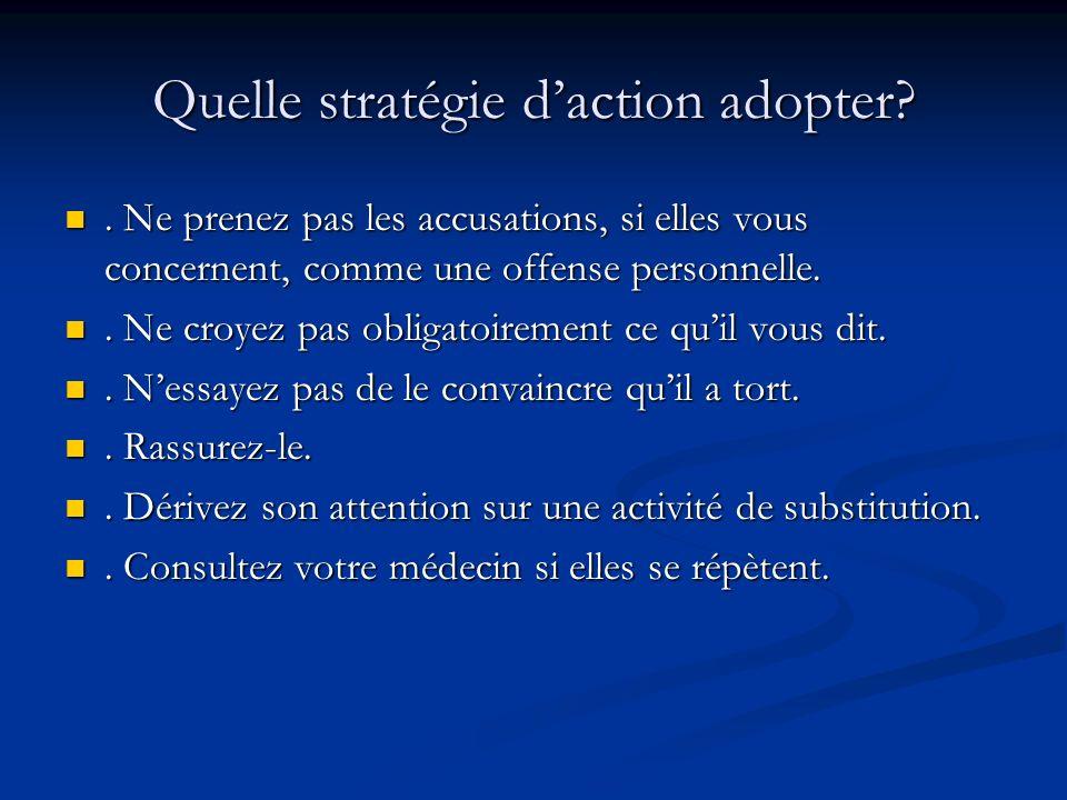Quelle stratégie daction adopter?. Ne prenez pas les accusations, si elles vous concernent, comme une offense personnelle.. Ne prenez pas les accusati