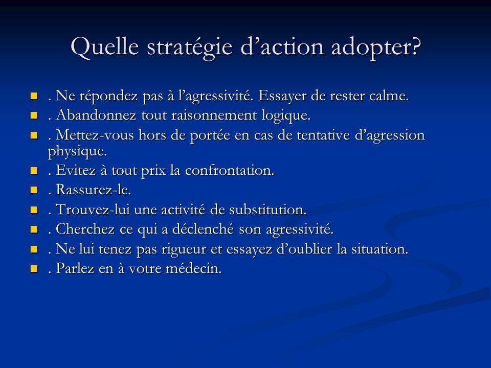 Quelle stratégie daction adopter?.Ne répondez pas à lagressivité.